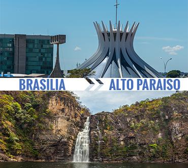 Brasília x Alto Paraíso de Goiás